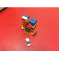 Creating icebergs and penguins with lego