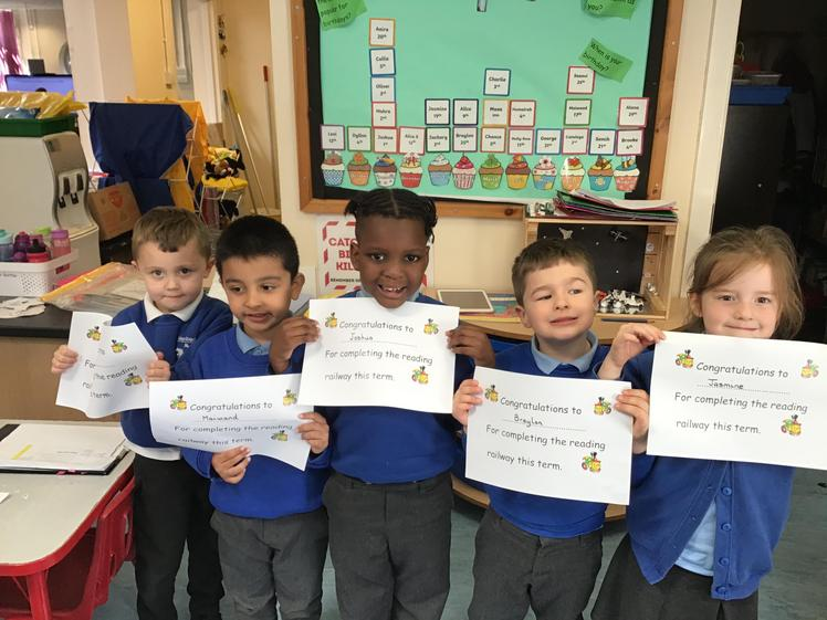 Well done for reading all term.