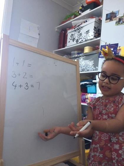 Nina's Maths (Reception)
