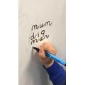 Week 3- applying phonics to write words