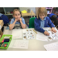 Instruction writing about how to plant a seed.