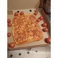 Markuss made a pizza :)