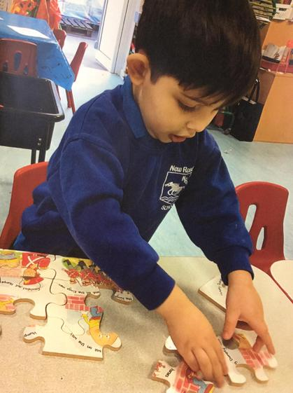 Well done Eli you worked really hard to complete the puzzle.