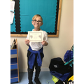 Well done Archie for excellent participation in class discussions!