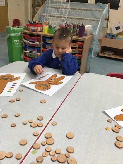Well done Zachary for excellent counting of the buttons.