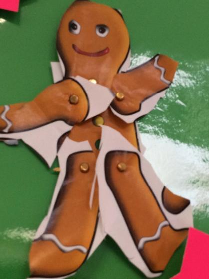 A wonderful creation of the Gingerbread Daisy-Mae.