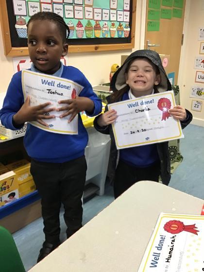 Thursday's outstanding children
