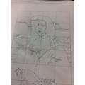 art work for the Mona Lisa