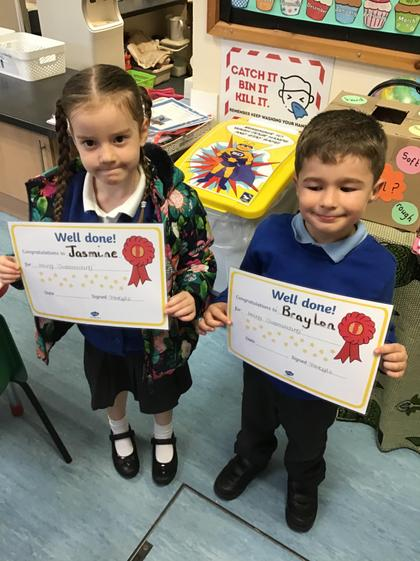 Monday's outstanding children.