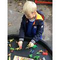 Week 6- Dinosaur small world play