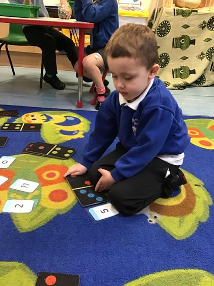 Well done George your number recognition is improving.