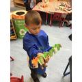 We enjoyed making our own caterpillars.