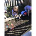 We enjoyed planting some seeds.