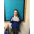 Well done Frankie for super work in Maths!