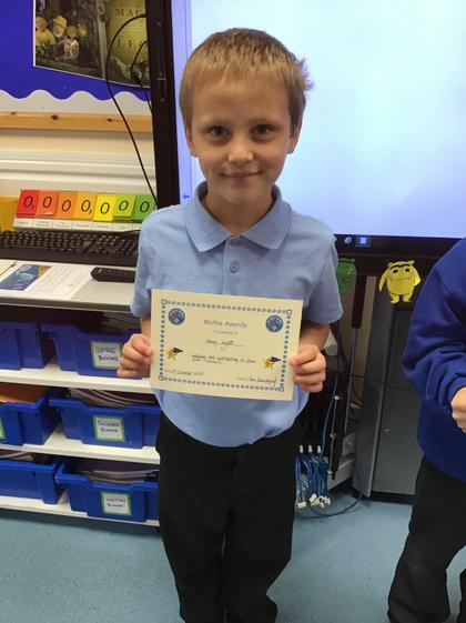 Fantastic work Harry! Not only in Maths:)