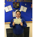 Well done Amelia, for brilliant work on fractions!