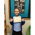 Well done Olivia for your great understanding of measurement conversions. :)