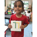 I can make two digit numbers.