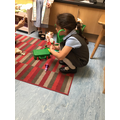 The children enjoy role play in our toy hospital