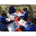 In Topic we used our Artisitc skills to draw everyday life scenes from the Stone Age.