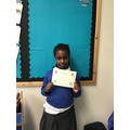 Super Maths work Teniola with accurate lines of symmetry!