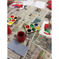 We painted the fair trade logo