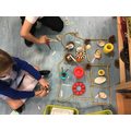 Week 3 - Loose Parts area - house layout and labels