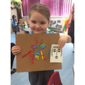 Connie followed instructions and created pin  picture