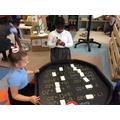Tuff tray - Number bond challenge