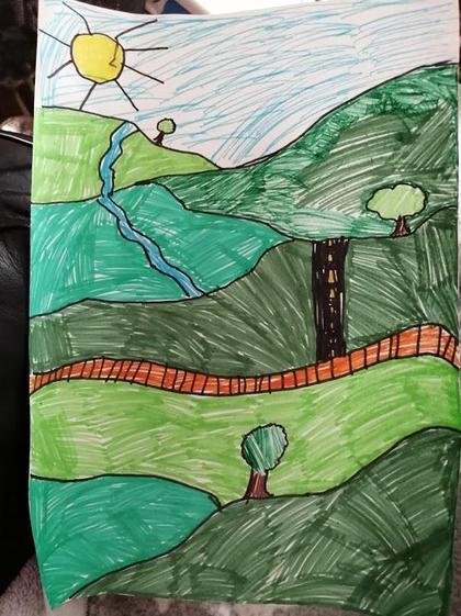 Amelia's Landscape (Y5)