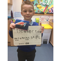 We wrote sentences about sea creatures.