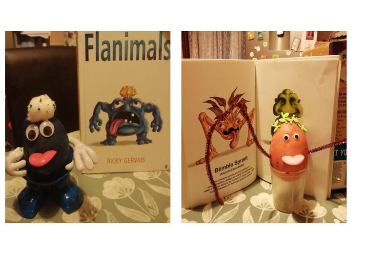 Flanimals and Blimble Sprent by Amelia in Butterflies