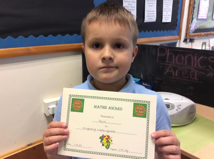 Week 4 - David for recognising maths symbols correctly.