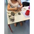 Clay Canopic Jars