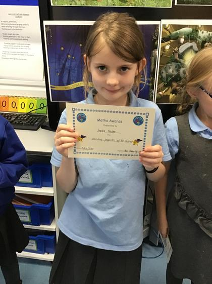 Sophia! You are always doing your best! Well done!