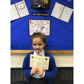 Well done Bree for writing super sentences this week!:)