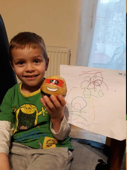 The Gruffalo by Dominic in Caterpillars