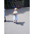 The children enjoyed PE