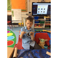 Joshua started to model the habitat for his creature