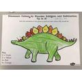 Dinosaur addition and subtraction.