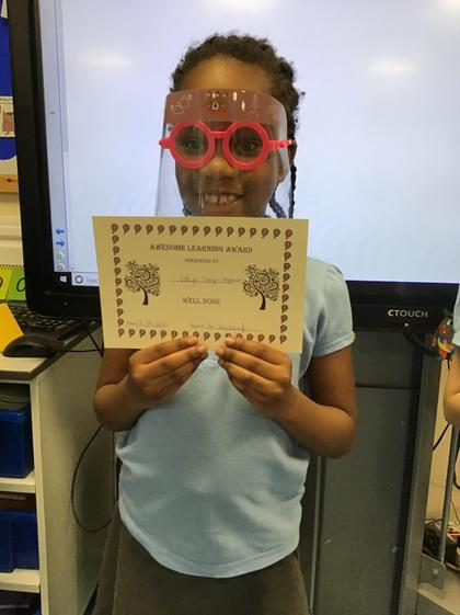 Brilliant learning Edlyn! You are very active during the lessons! Well done!!!:)
