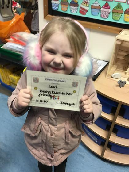 Well done Lexi for being a kind friend.