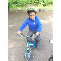We had fun on the balance bikes.