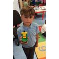 A Lego model