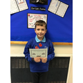 Well done Aron for your excellent behavior for learning! :)