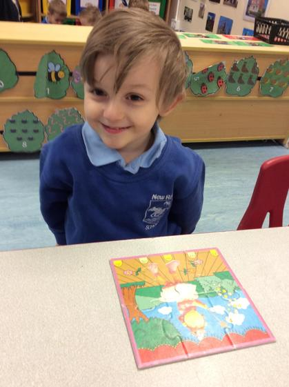 Well done Harley for completing a tricky puzzle independently.