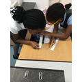 Maths - measuring different objects using a ruler.