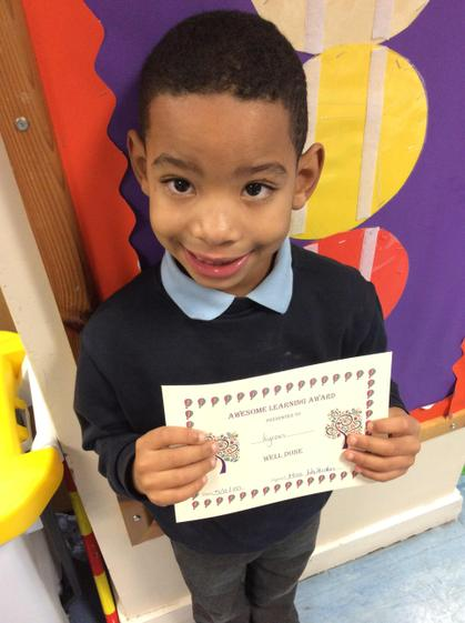 Kyron for working hard and answering more questions on the carpet.