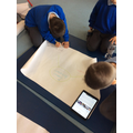 Group researching Astronauts