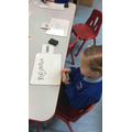 We can use our phonic knowledge to write words.